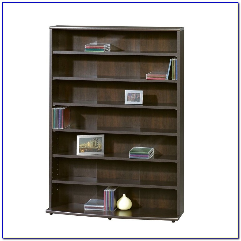 Horizontal Bookcase With Bins