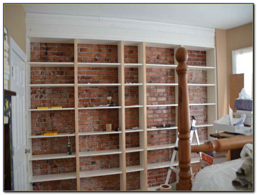 How To Build A Bookcase Wall Video