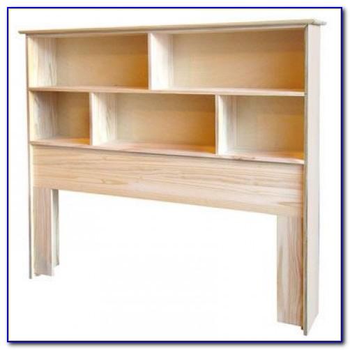 How To Build A Bookshelf Headboard