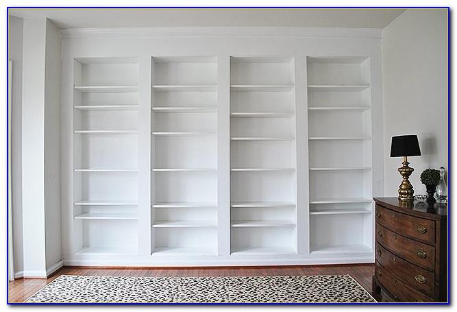 How To Build A Built In Bookcase And Desk
