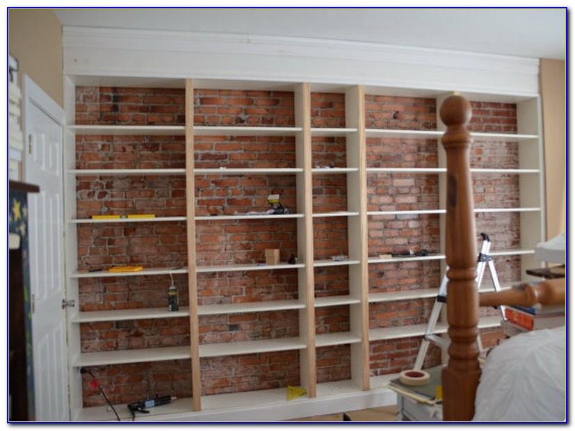 How To Build A Wall Bookshelf