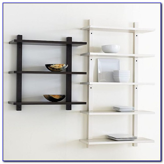 How To Build Wall Mounted Storage Shelves