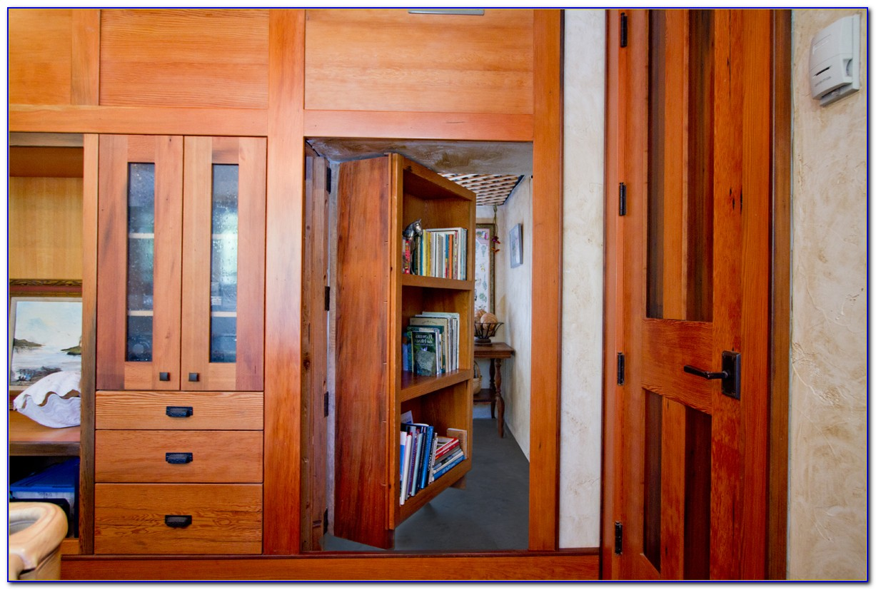 How To Make A Hidden Bookshelf Door