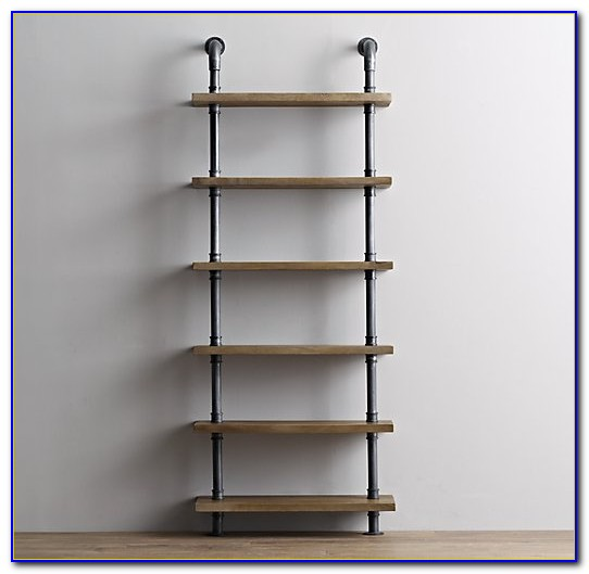 How To Make Industrial Pipe Bookcase