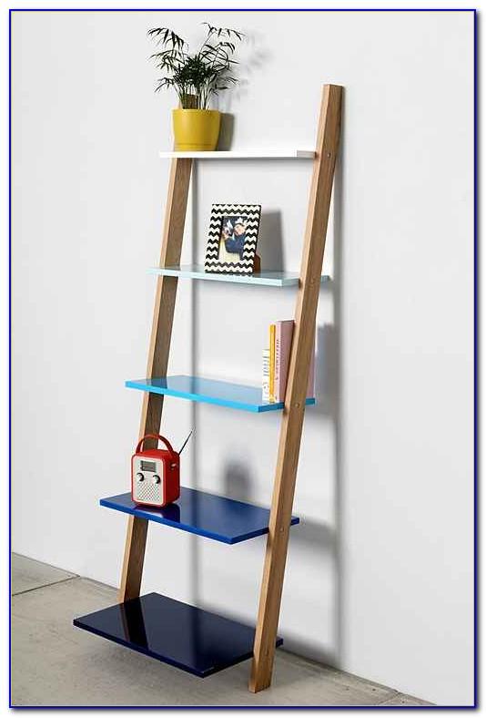 How To Make Leaning Bookshelves