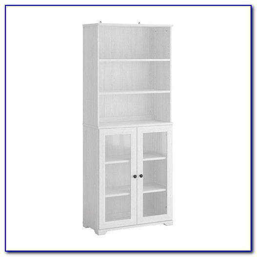 Ikea Billy Bookcase Glass Doors