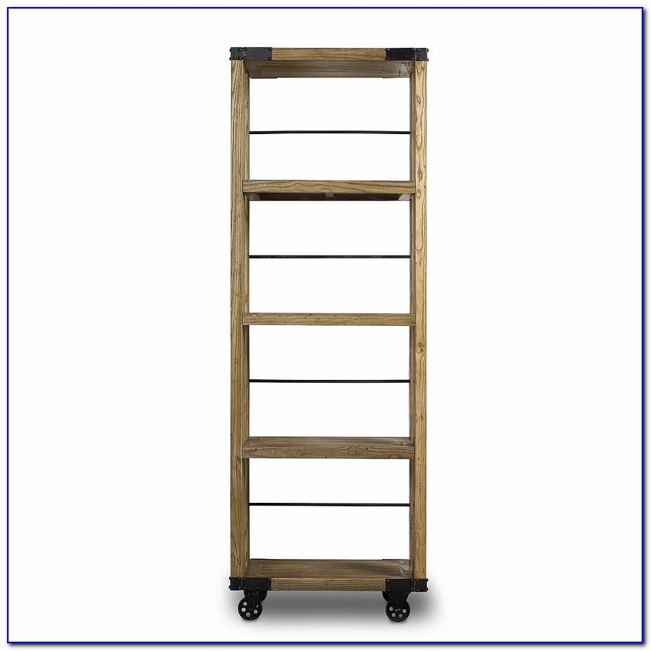 Ikea Bookcase On Casters