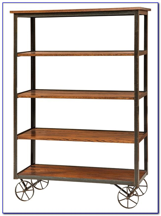 Industrial Modern Rustic Bookcase