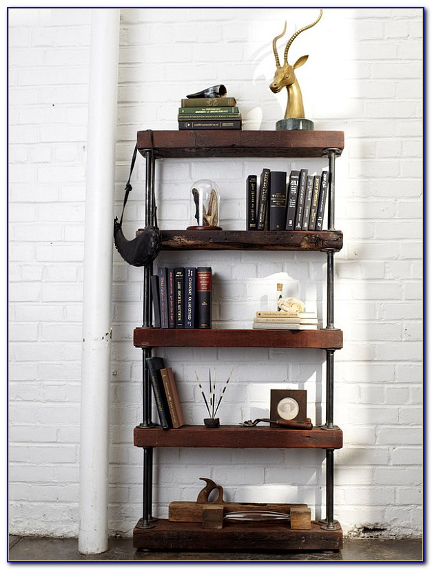 Industrial Pipe Bookshelf Instructions