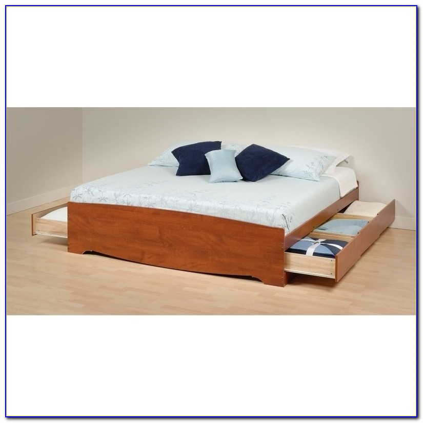 King Bed Bookcase Headboard