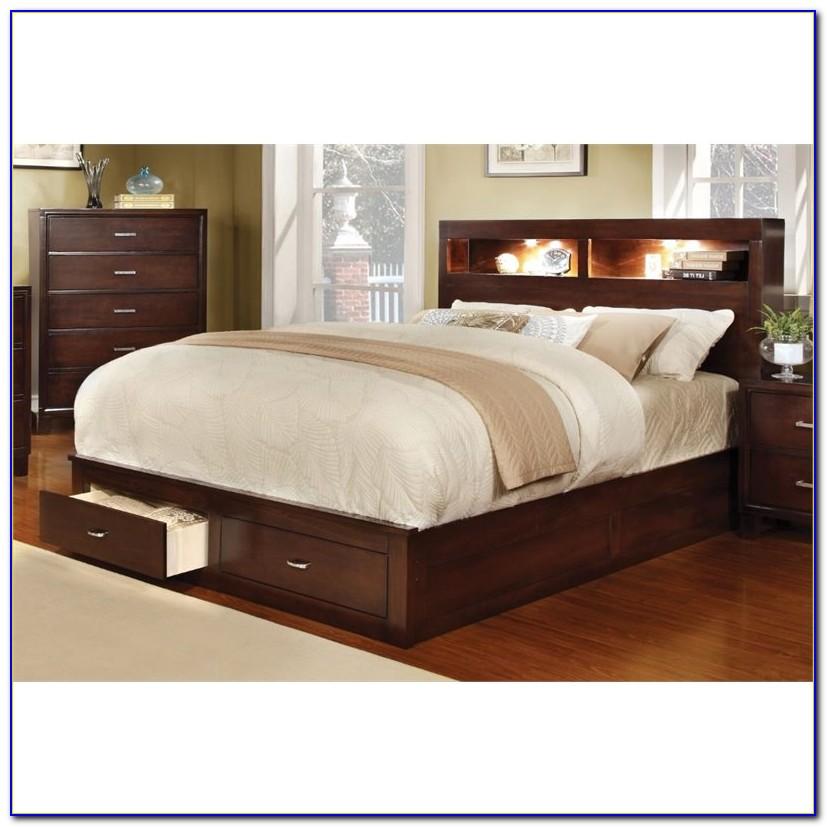 King Bookcase Bedroom Sets