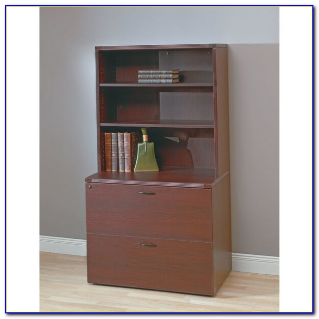 Lateral File Cabinet Bookcase