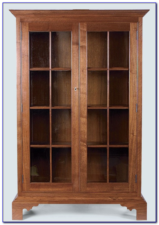 Lawyer Glass Front Bookcases