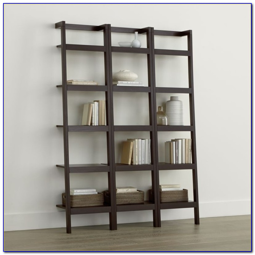 Crate And Barrel Sloane Leaning Desk Home Remodel Sawyer Mocha Leaning 18 Bookcases Set Of Three Crate And Barrel
