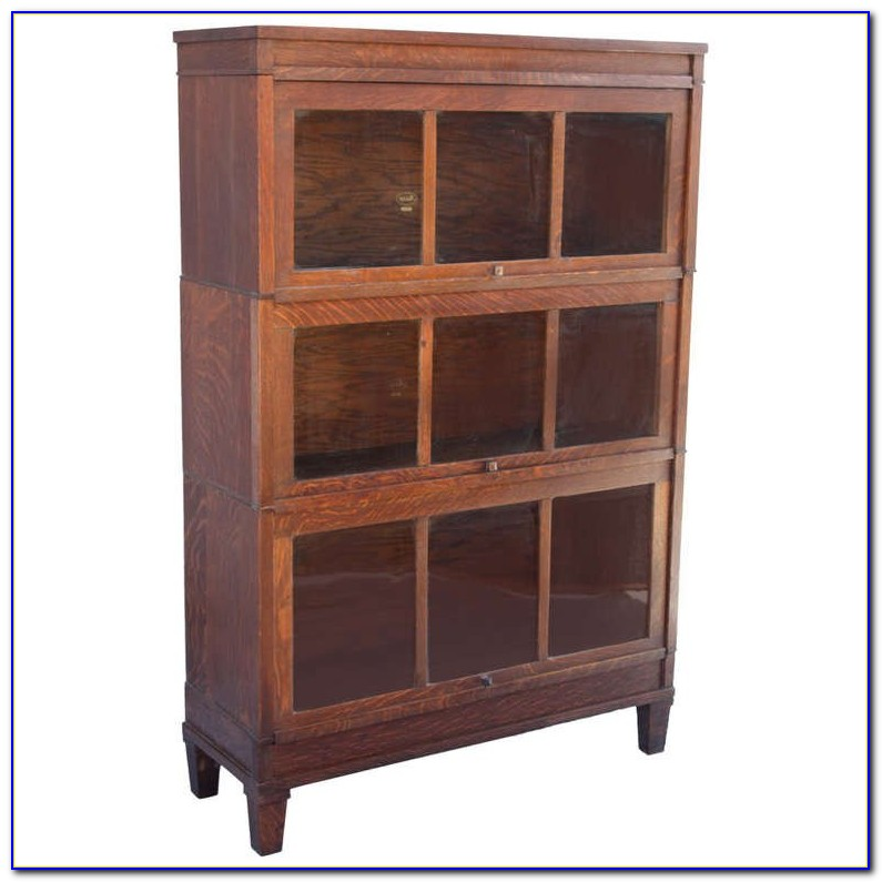 Macey Lawyer Bookcase Antique