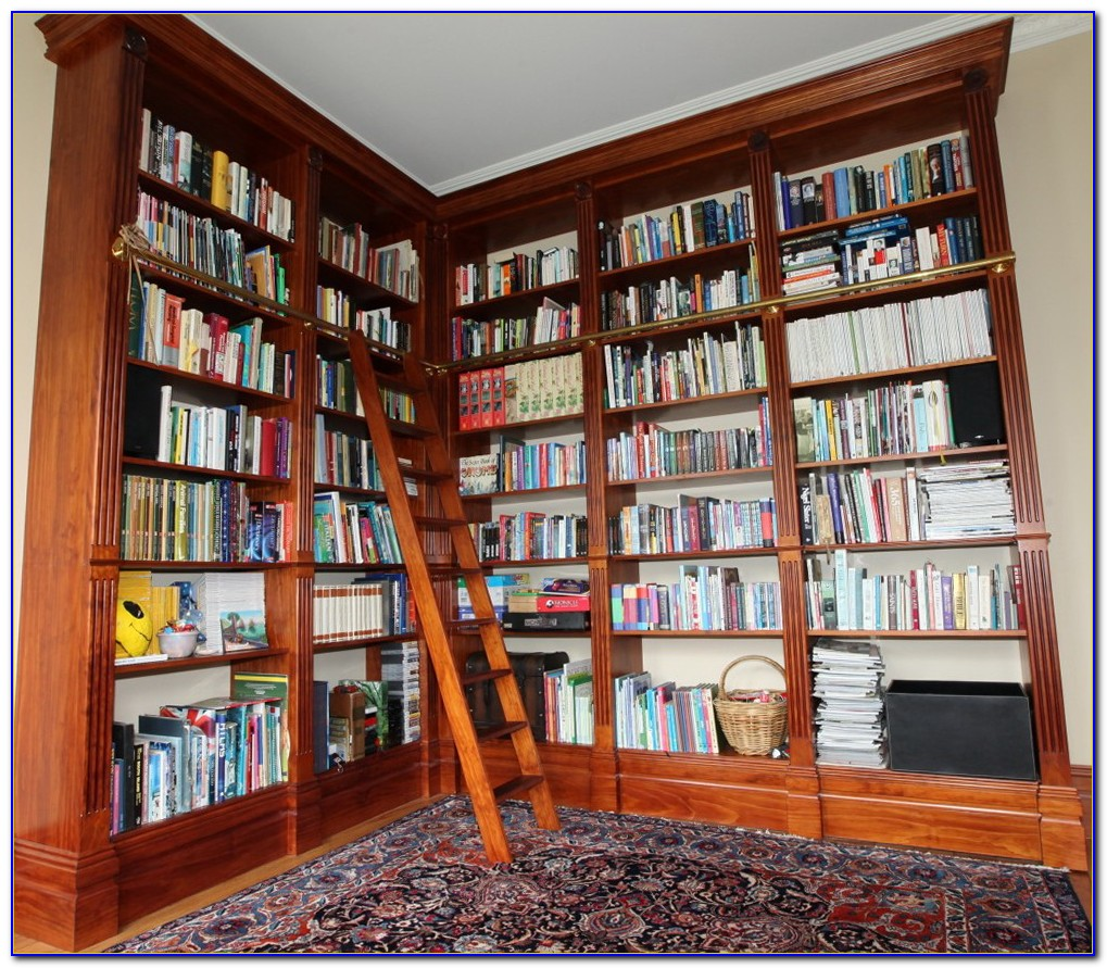 Make Floor To Ceiling Bookcases