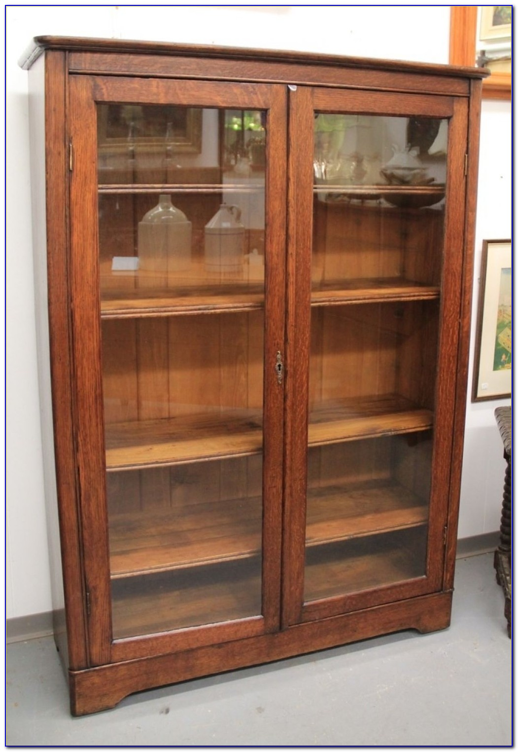 Mission Bookcase Oak