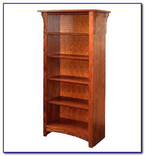 Mission Style Oak Bookcase
