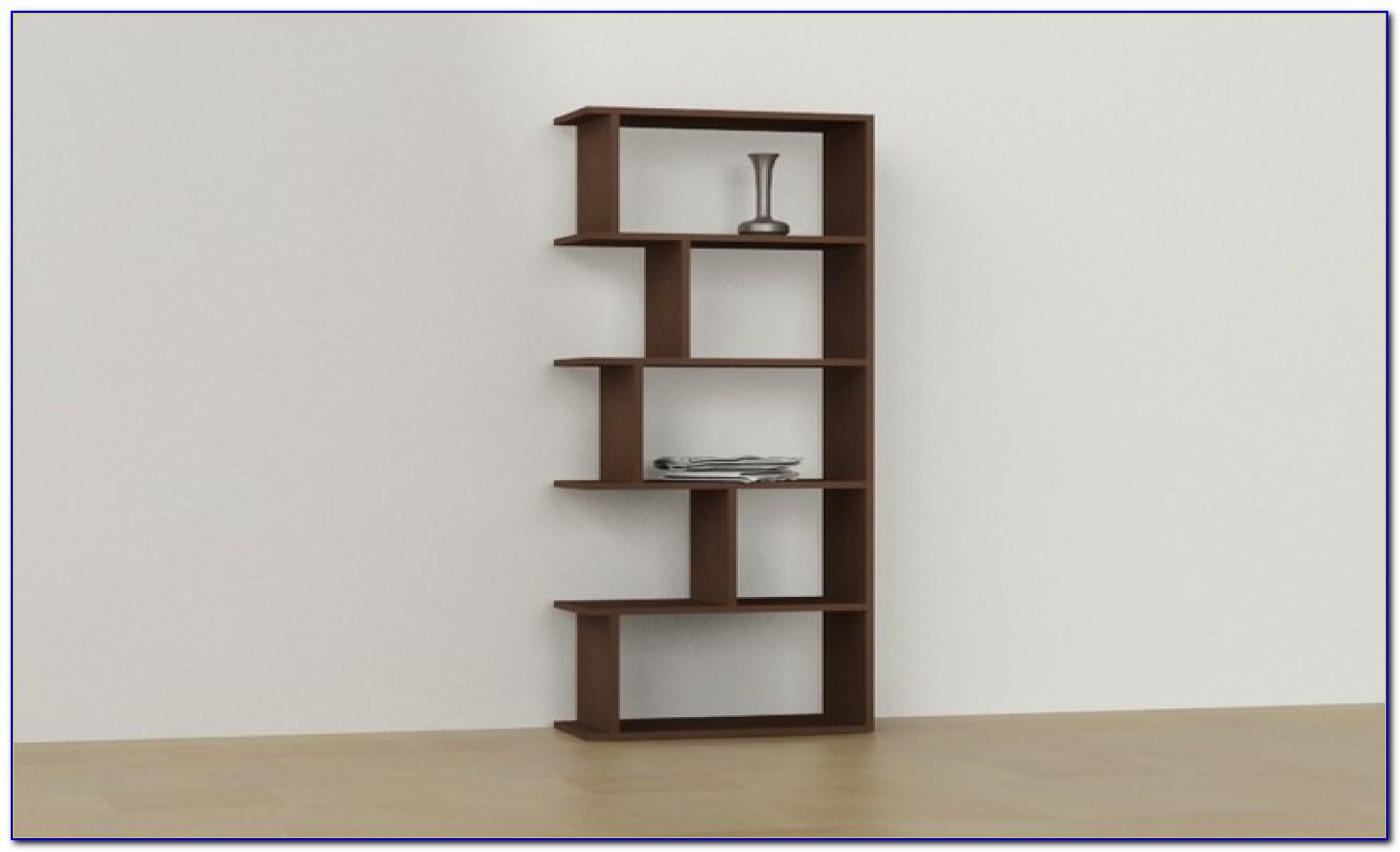 Modern Corner Bookshelves