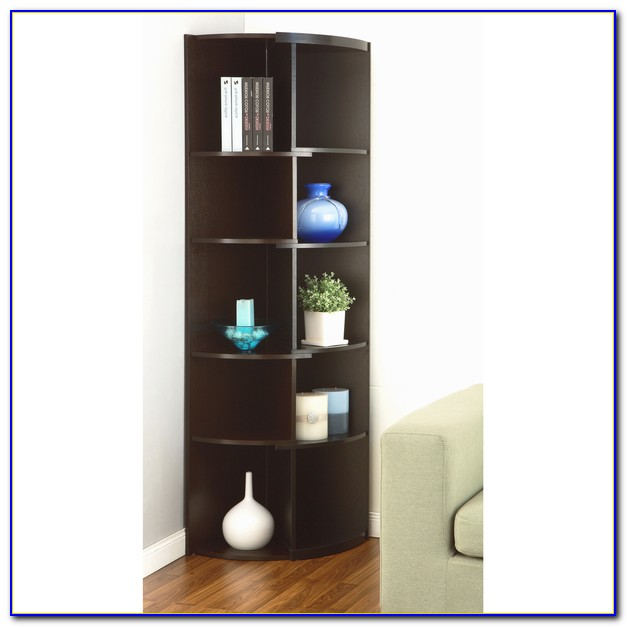 Modern Corner Unit Bookcase