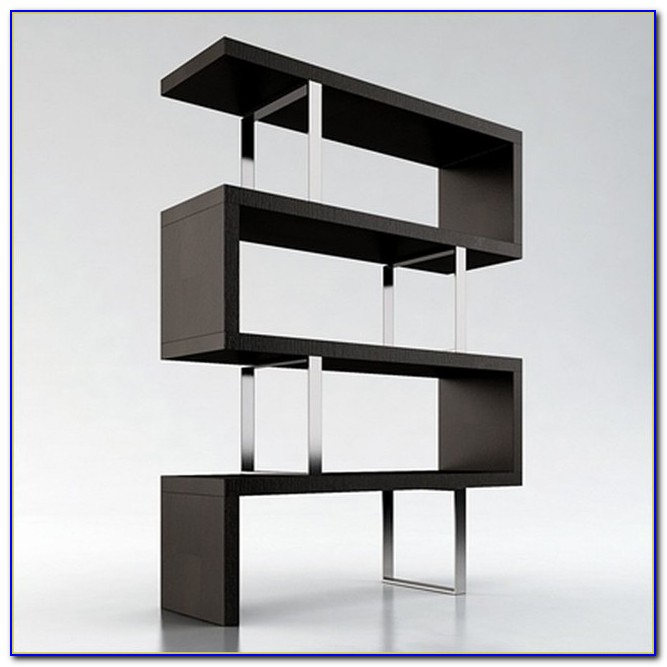 Modern Wood Bookcase