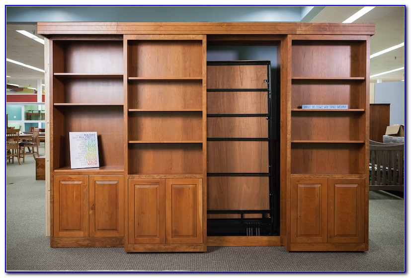 Murphy Bed Bookcase Furniture