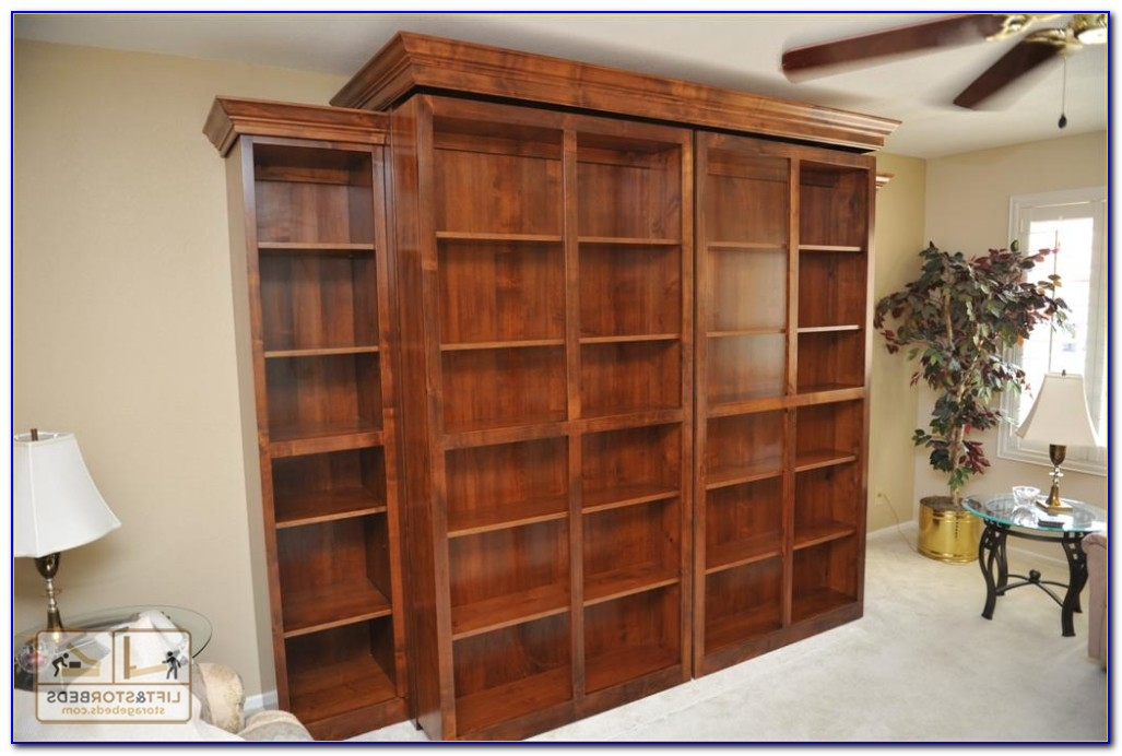 Murphy Bed With Shelf