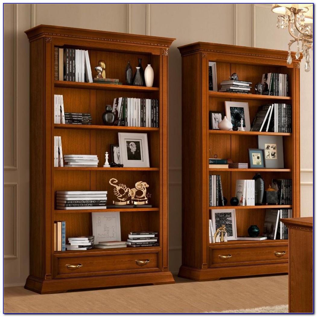 Narrow Cherry Bookcase