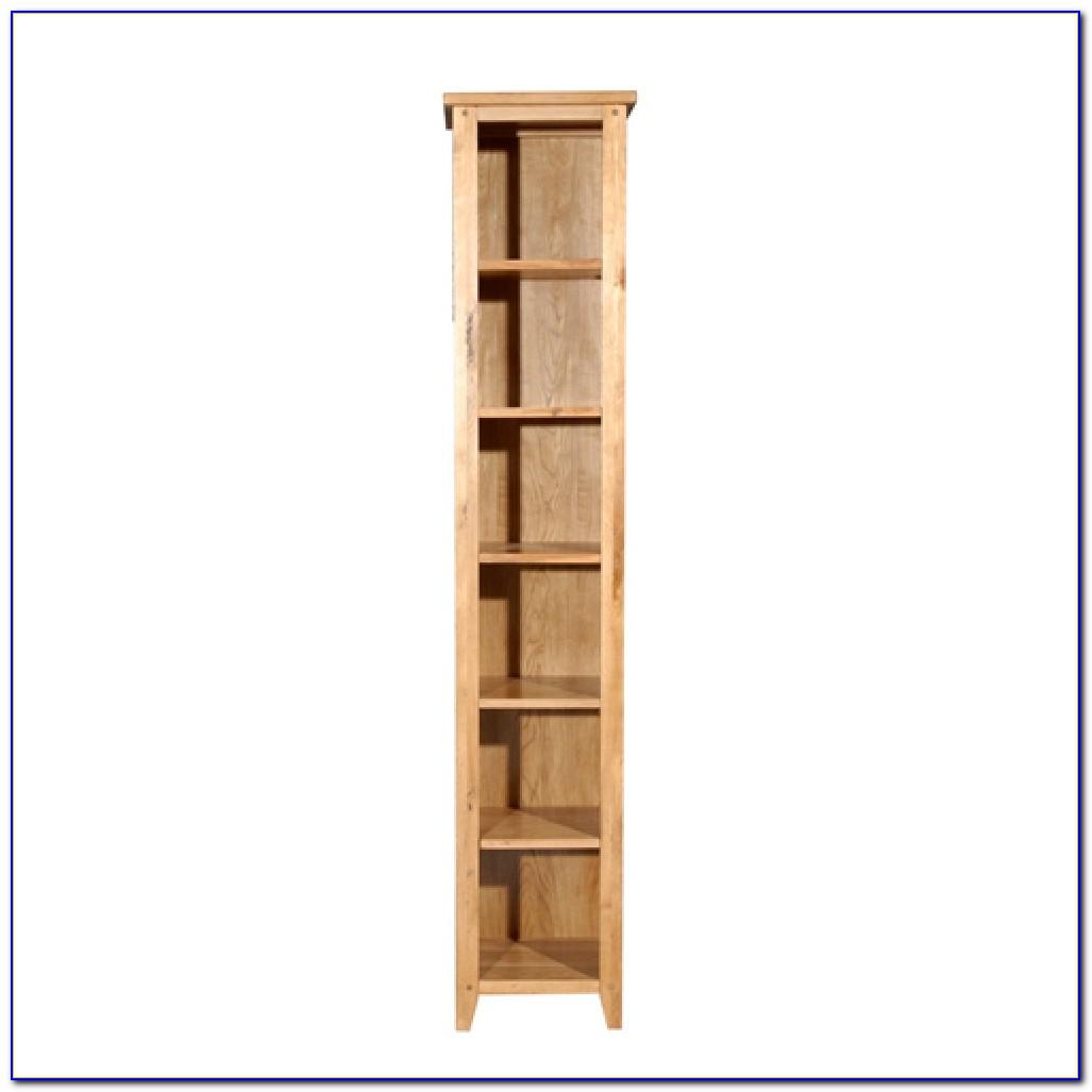Narrow Corner Bookcase