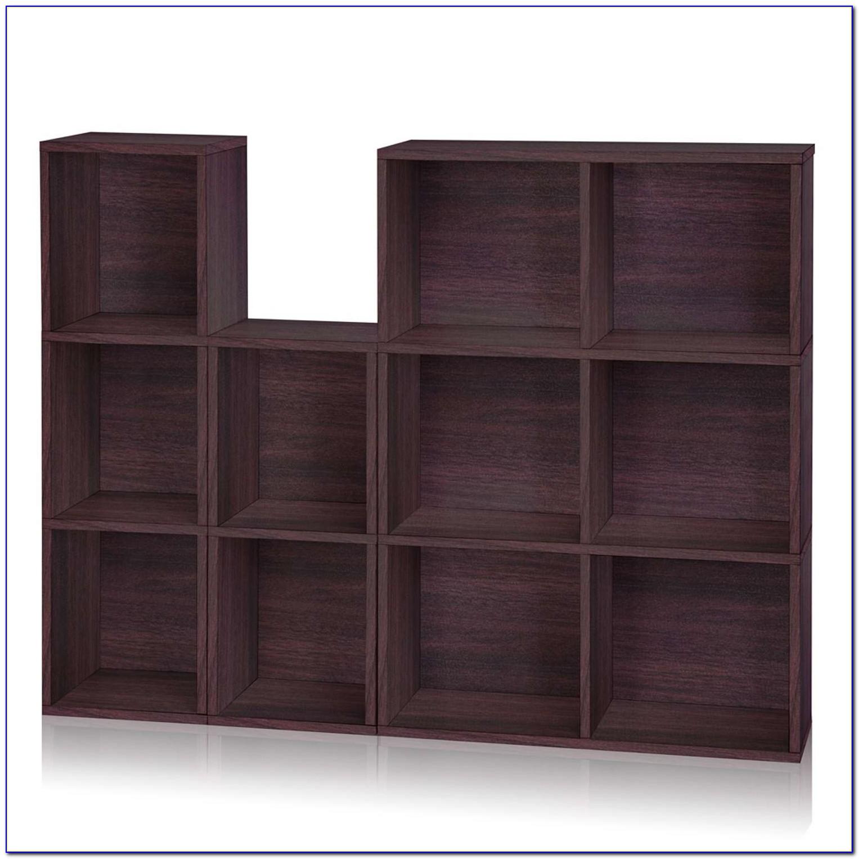 Narrow Cube Bookshelf