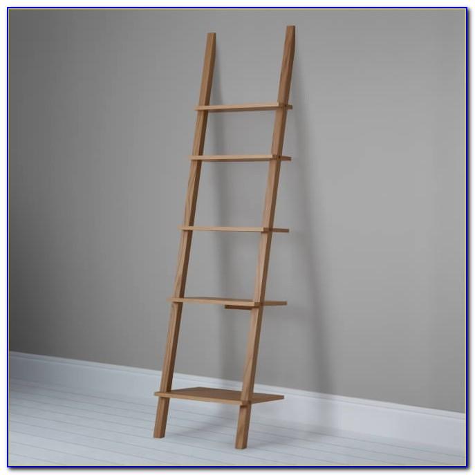 Narrow Ladder Bookcase