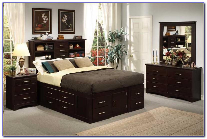 Oak Bookcase Bedroom Sets