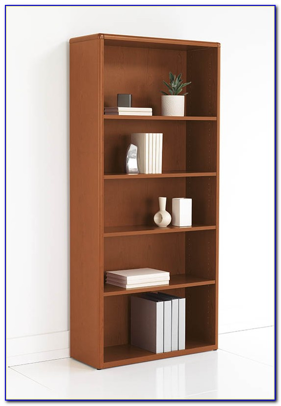 Oak Bookcase With Adjustable Shelves
