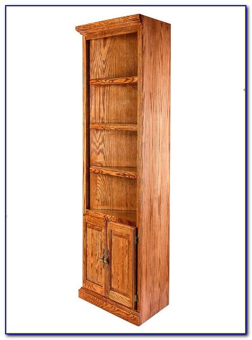 Oak Corner Bookcase Uk