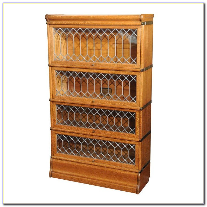 Oak Lawyers Bookcase