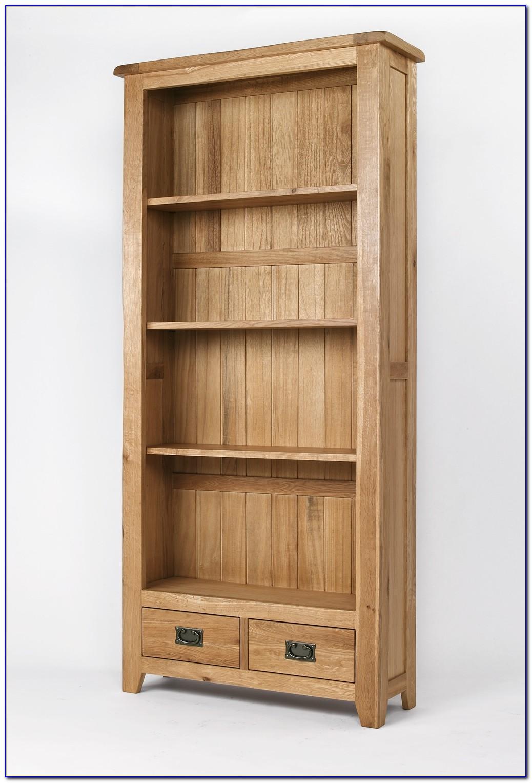 Oak Wood Bookshelf
