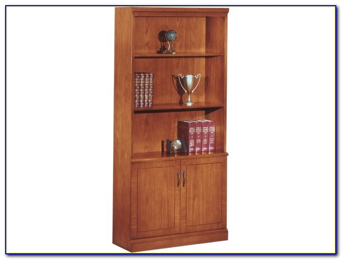 Office Shelves With Doors