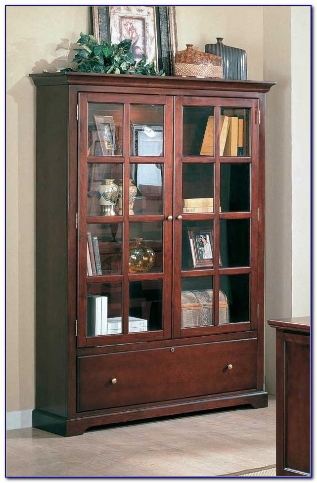 Office Shelves With Sliding Doors