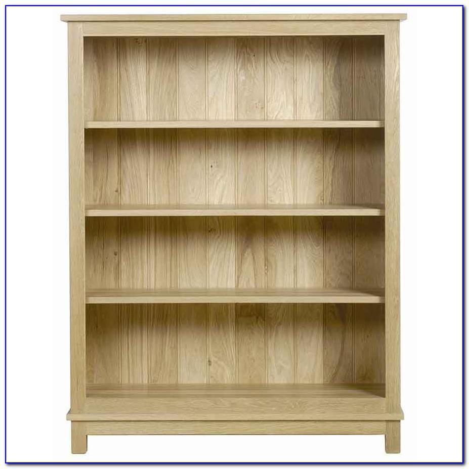 Open Back Bookcases Oak