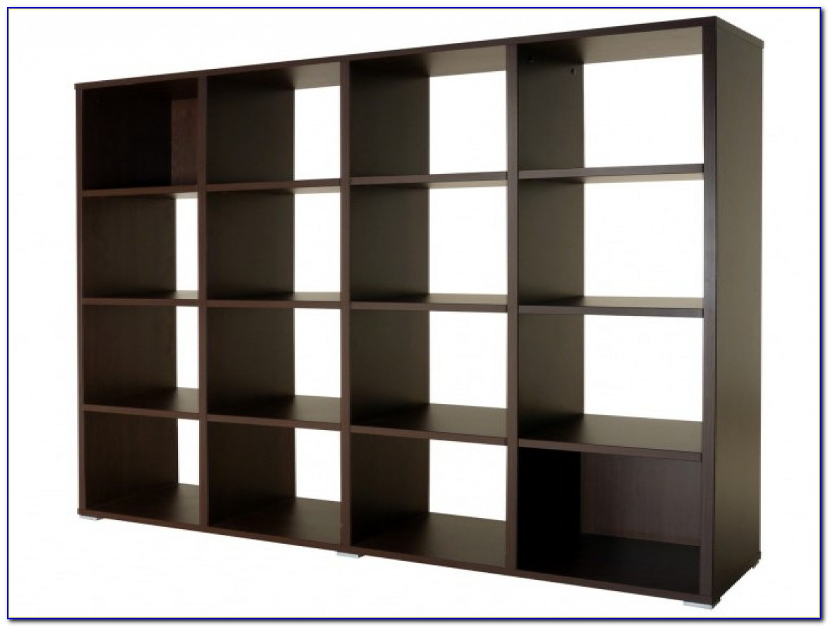 Open Back Wooden Bookcases