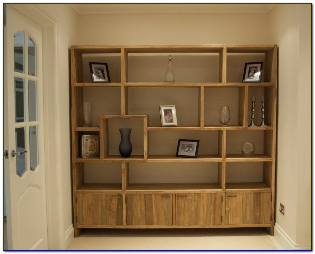 Open Bookcases Solid Wood