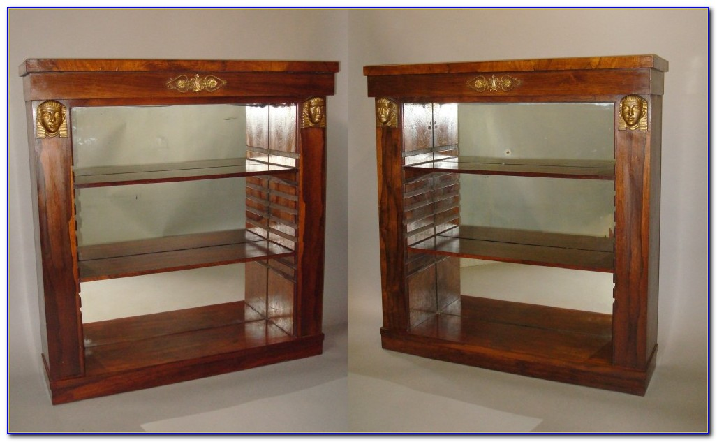 Open Sided Bookshelf