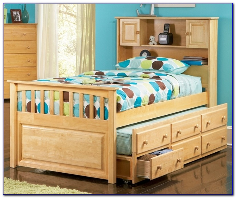Paxton Bookcase Captains Bed