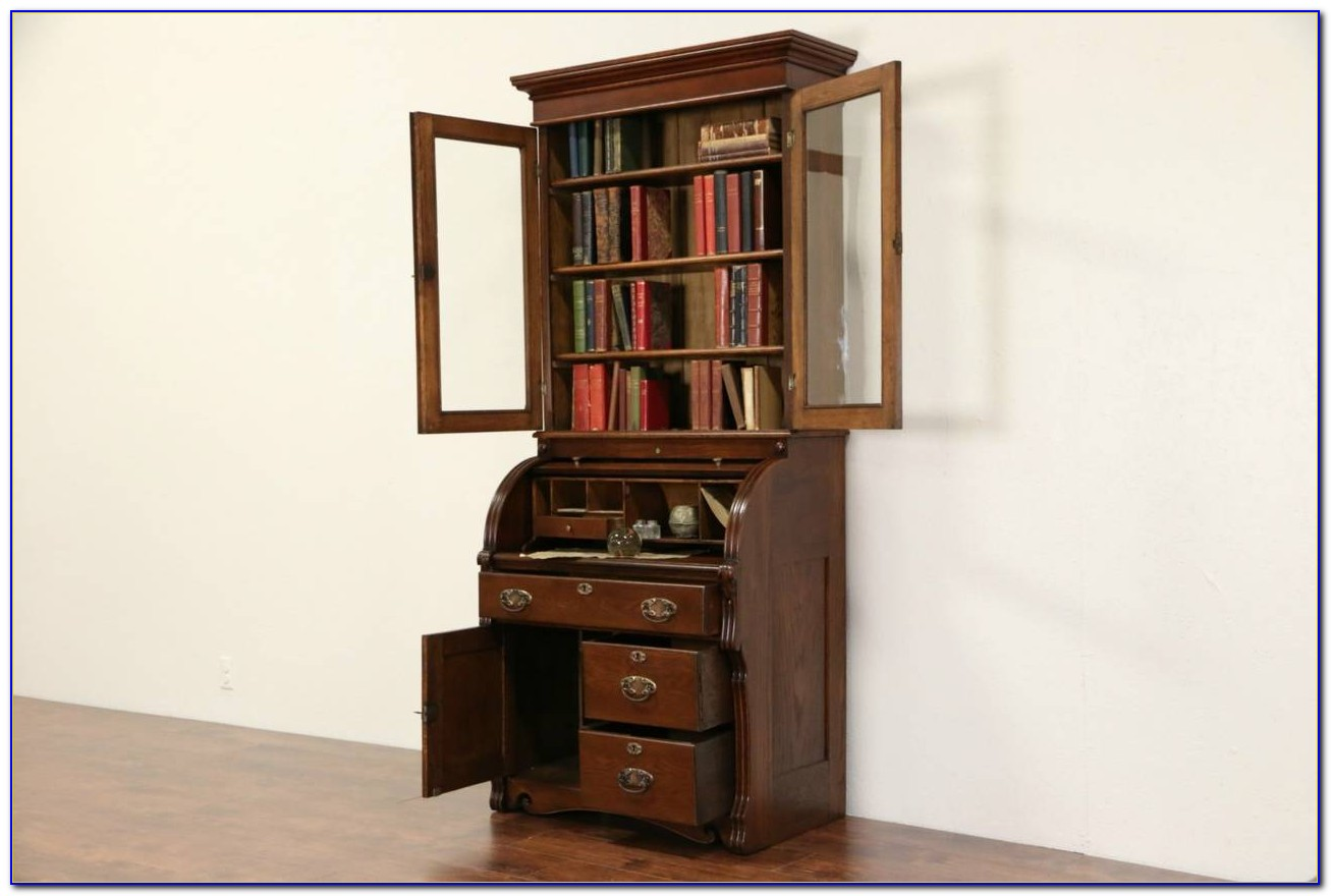 Pennsylvania House Secretary Desk Bookcase