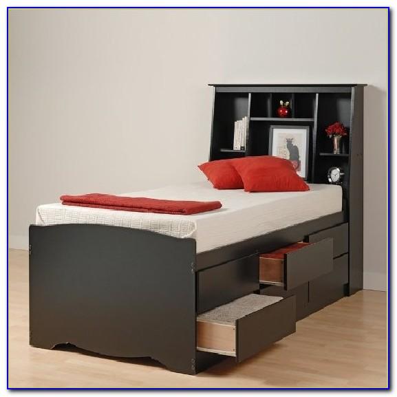 Platform Bookcase Bed