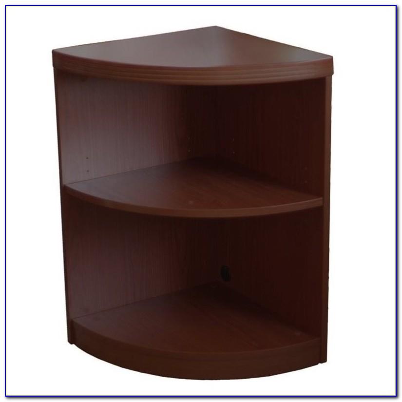 Quarter Circle Bookcase