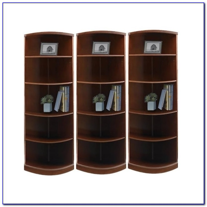 Quarter Round Bookshelf