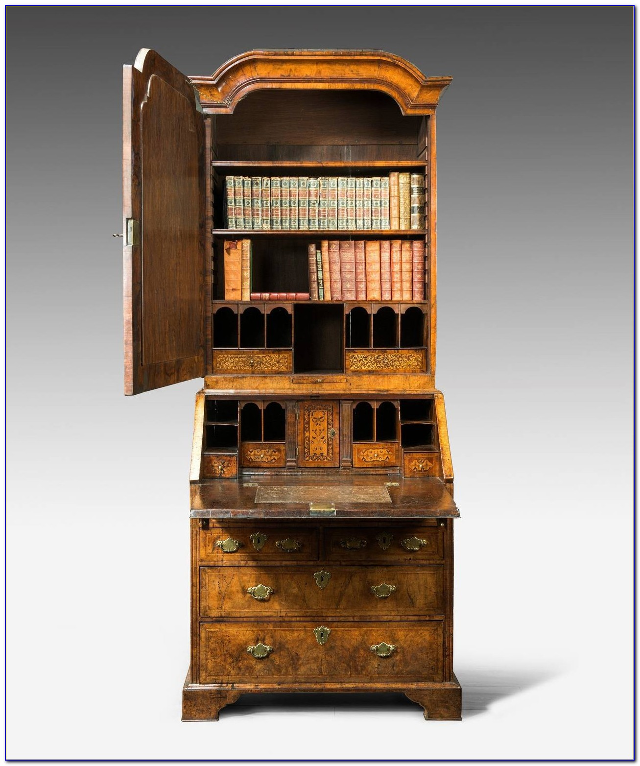 Queen Anne Bookshelf