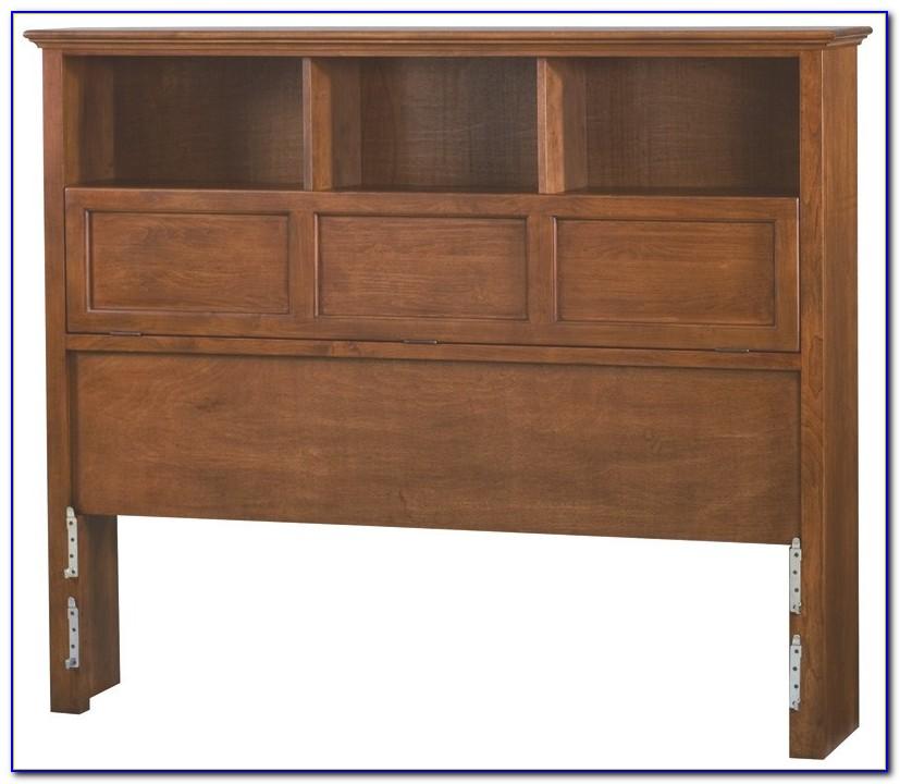 Queen Bookcase Headboard Solid Wood