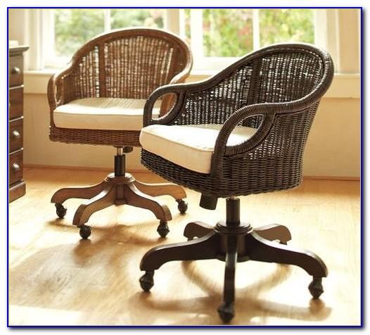 Rattan Swivel Desk Chair Uk